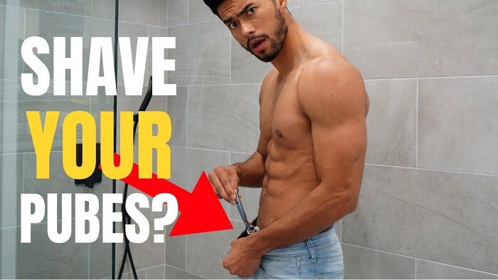 how to trim your pubic hair men